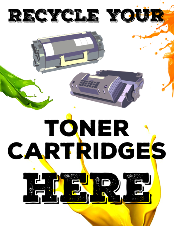 Recycle Toner Cartridges Here